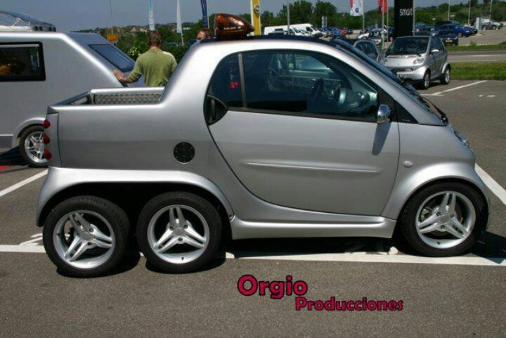 I always wanted a hybrid and a pick up truck!! :)