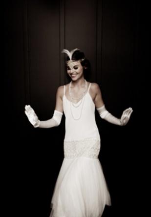 1920s Bridal Gown Lindsay Fleming