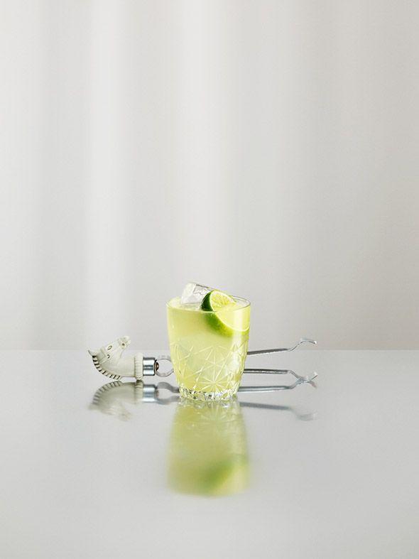 Lemon soft drink.