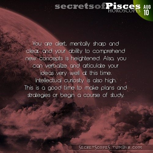 Pisces Horoscope. Do you know your rising sign?  Visit iFate.com Astrology today!