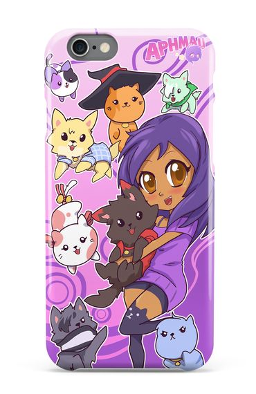 Discover Aphmau Phone Case T-Shirt from Aphmau®, a custom product made just for you by Teespring. With world-class production and customer support, your satisfaction is guaranteed. - Filled with character pups and kittens this...