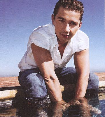 Shia LeBeouf ~ there is just something about this little douche bag that i dig. hahaha