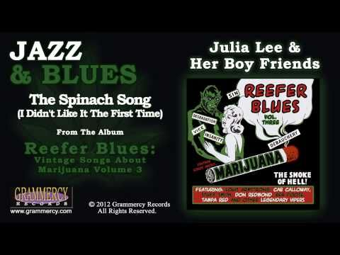 ▶ Julia Lee & Her Boy Friends - The Spinach Song (I Didn't Like It The First Time) - YouTube