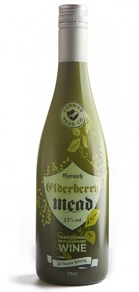 ELDERBERRY MEAD   Cornish Mead Co.: From Newlyn, Cornwall     ✫ღ⊰n