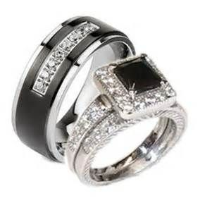 Harley-Davidson Wedding Rings Sets
