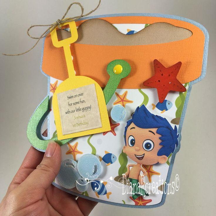 Little Bubble Guppies Birthday Invitations...❤️❣ #papergoods…
