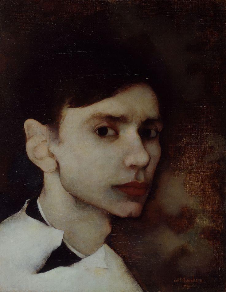 Jan Mankes - Self Portrait 1912  (Age 22)