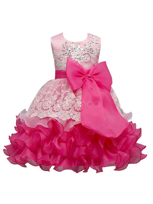 8ba6c27fcd6 Flower Girl Dresses Princess Blue Lace Sequin Ruffles Tiered Ribbon Bow Kids  Pageant Dresses  Princess