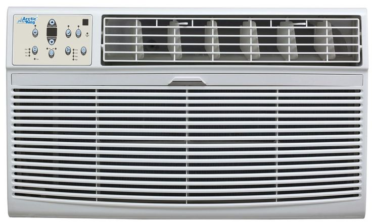 Arctic King AKTW10CR61 10000 BTU 115 Volt Through the Wall Air Conditioner with White Air Conditioners Through Wall Cool Only