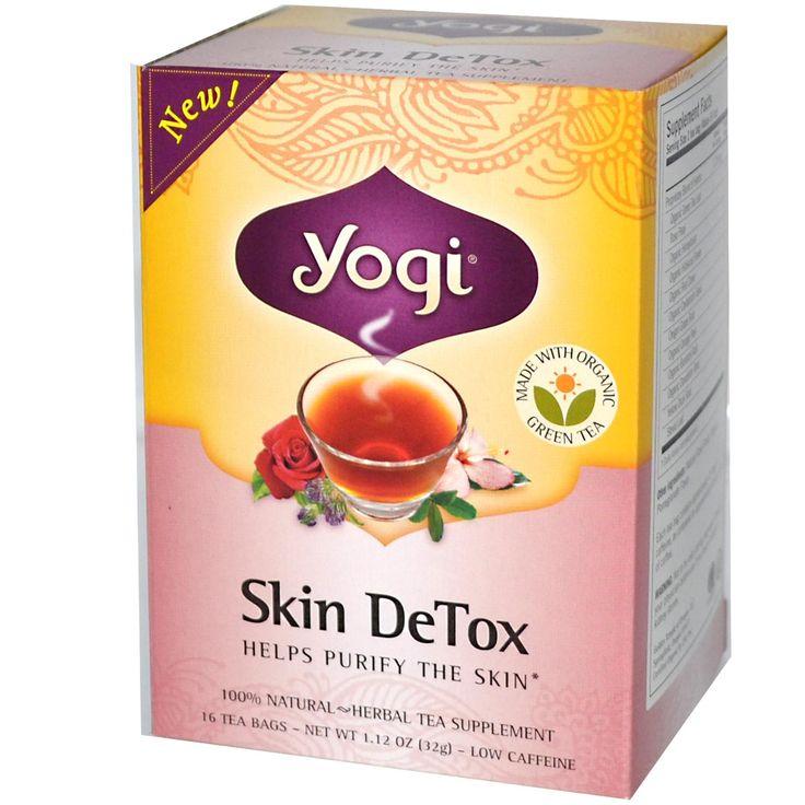 Yogi Tea, Skin Detox Tea, 16 Tea Bags, 1.12 oz (32 g)    警告    妊娠中に使用してはならない。 あなたが腎臓結石の病歴がある場合は使用前に医師にご相談ください。