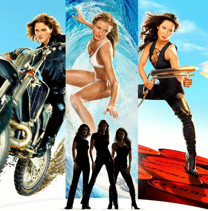 "To promote ""Charlie's Angels II: Full Throttle,"" they released sexy wallpaper for your computer!"
