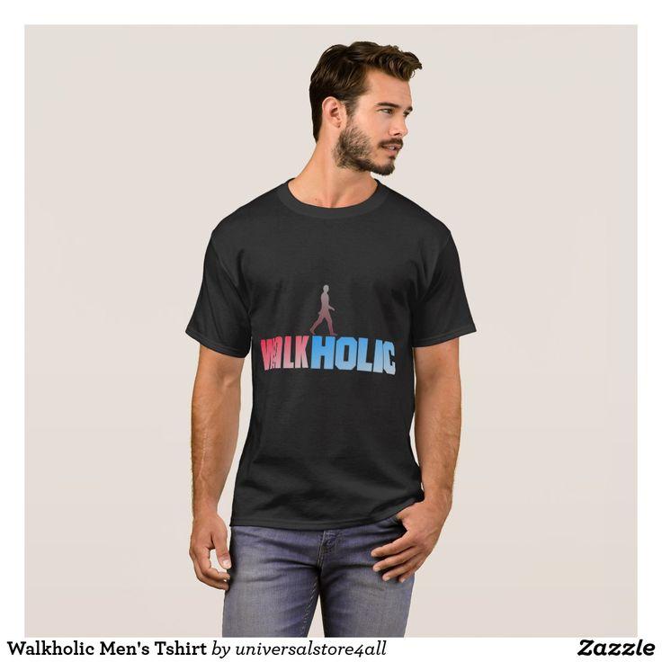Walkholic Men's Tshirt
