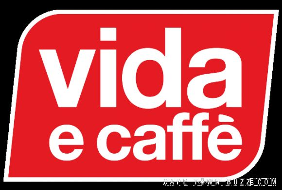 The brand  Vida e Caffe's distinctive red and white logo coupled with the simple modern interior makes this well branded store  easily recognisable internationally.