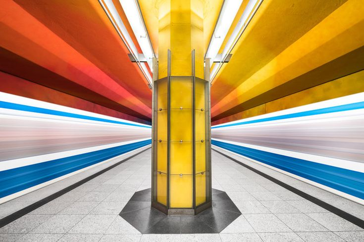 This Citys Subway Stations Have Surprisingly Stunning - Vibrant photos of international subways capture their unappreciated beauty