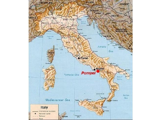 """Where is Pompei located?"""" Pompeii Favorite Tip by sim1 Are you looking for a tour to Pompeii from Naples/Sorrento/Positano/Amalfi or Salerno? Find more on https://www.etindo.com"""