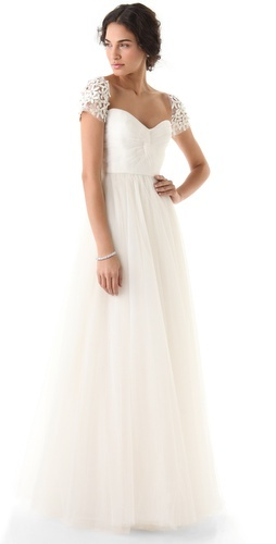 Simple Yet Stunning Wedding Dresses : Dress acra reem wed i am beautiful wedding