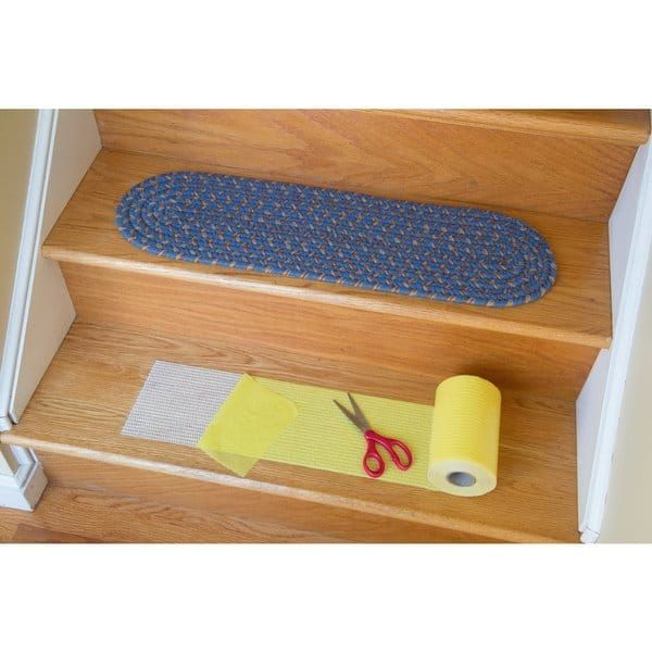 Best Rhody Rug Yellow Synthetic Stair Tread Installation Kit 400 x 300