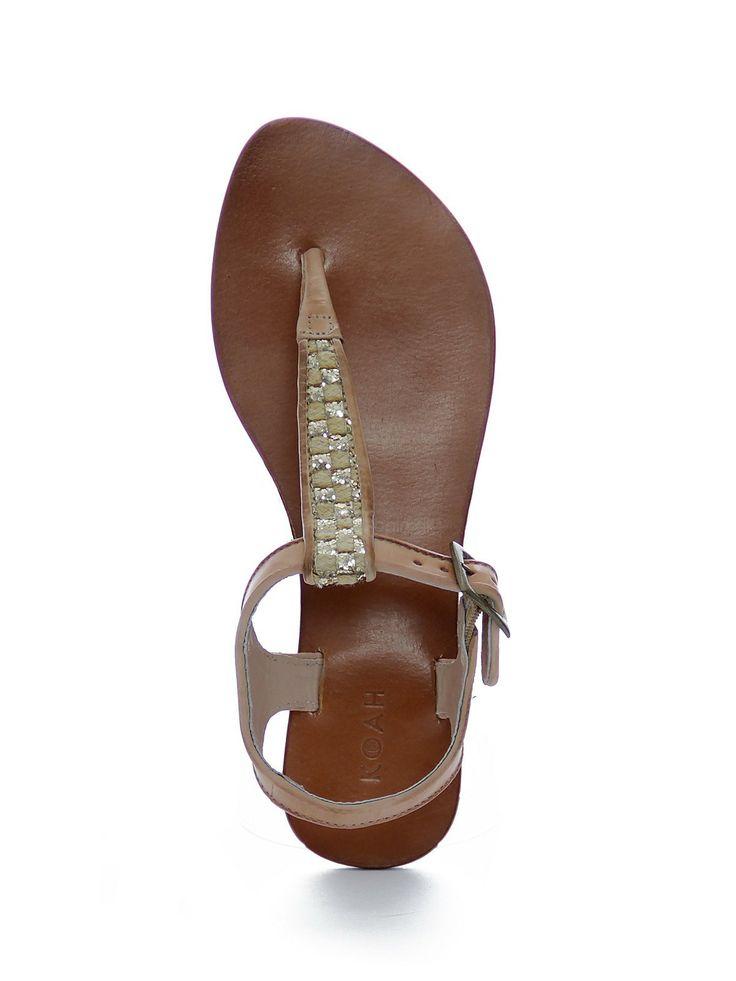 Koah Mell sandals - natural gold