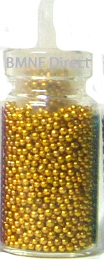 Micro Bead Mini Bottle - Gold - $1.75 : BMNE Direct Wholesale Nail Supplies, Nail supply shop online