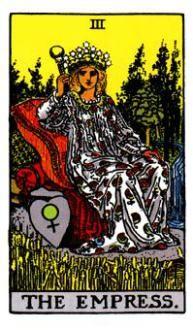 The Empress Tarot Card Meaning #tarot