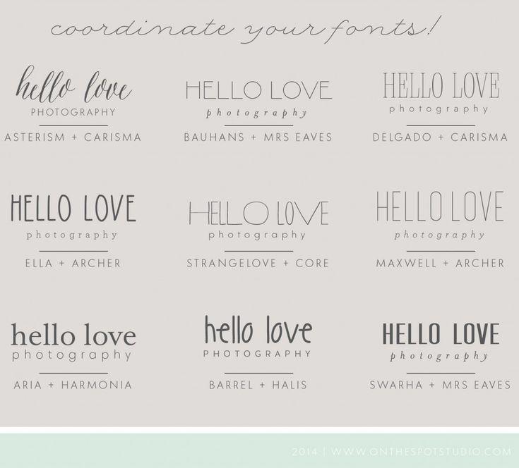 25+ Best Ideas About Font Combos On Pinterest