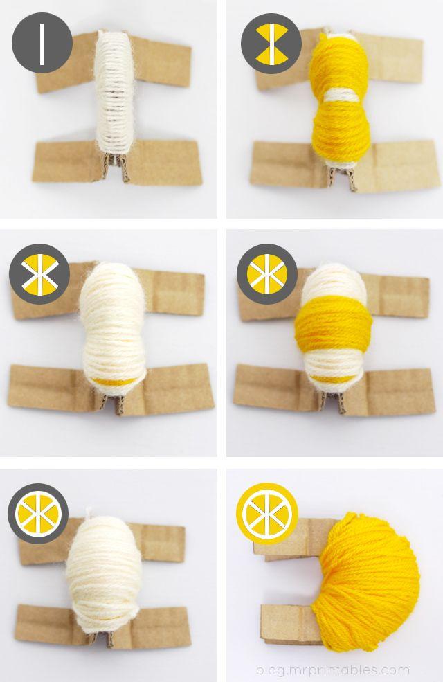 Le pompon Citron !!