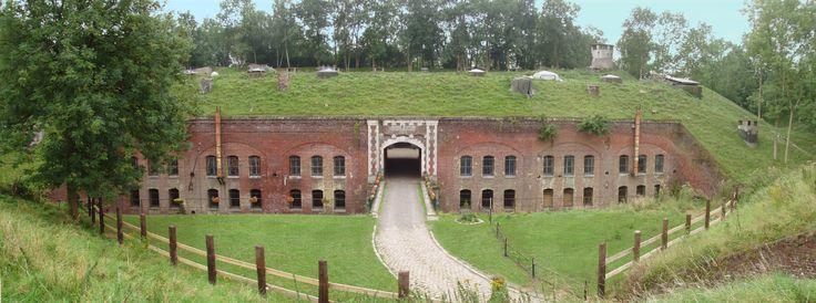 La vue générale du Fort de Seclin.