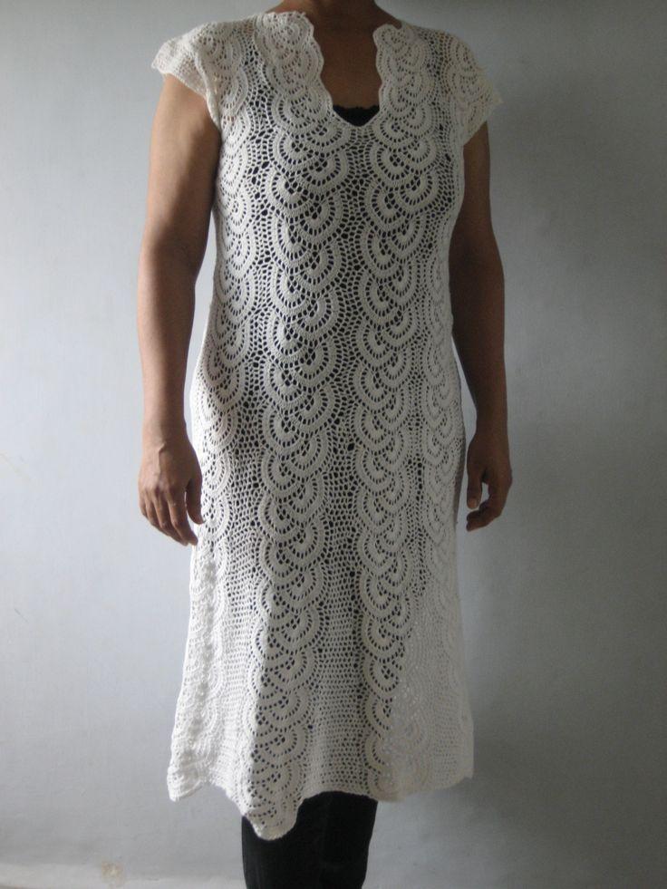 Crochet tunic front