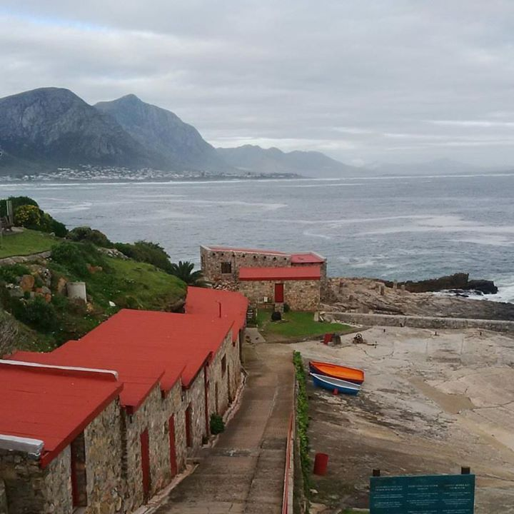 The old fishing harbour, Hermanus, Western Cape, South Africa.