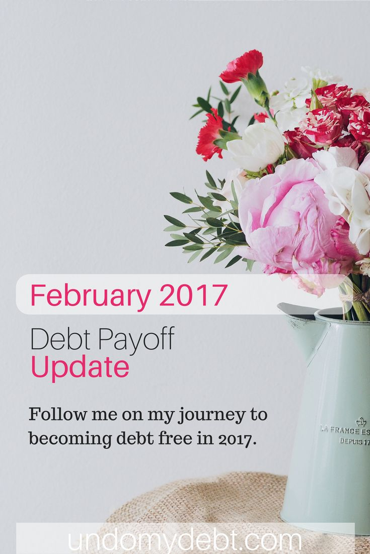 February 2017 Debt Free Journey Update - Follow me on my journey to becoming debt free in 2017!
