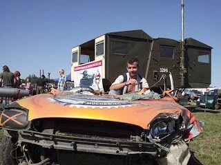 Rafał Ratyński blog: Summer Cars Party 2013, cz.4 - Wrak Race...