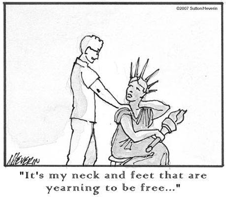 Massage Therapy Cartoons | Massage l Tim Sutton, Licensed Massage Therapist l Therapeutic Massage ...