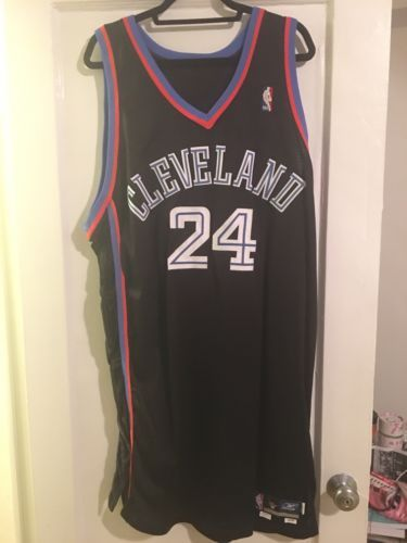 Vintage 1999-00 Andre Miller Cleveland Cavaliers Team Issued NBA Jersey Size 50