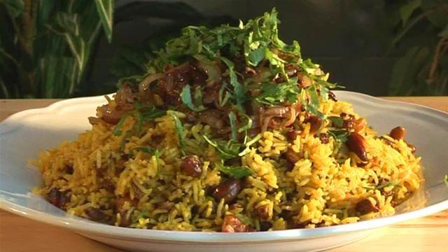 Zanzibar Rice Pilau. The spices make this dish amazing!