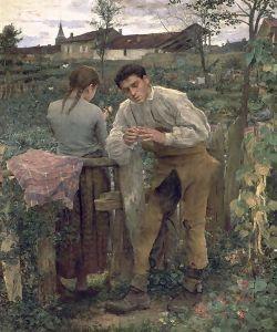 Storia della pittura attraverso i francobolli   Bastien-Lepage Jules 1848-1884
