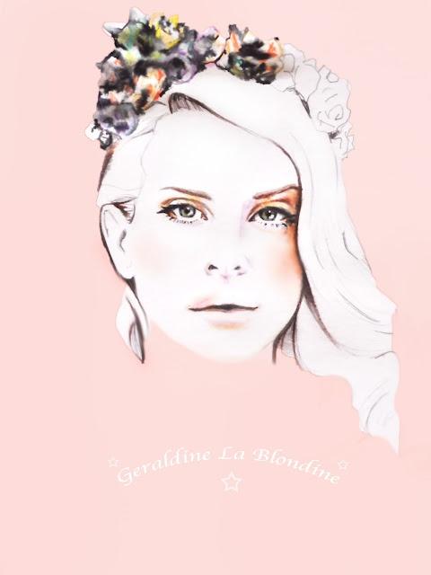 http://geraldinelablondine2.blogspot.fr/, LANA DEL REY PORTRAIT BY ME.