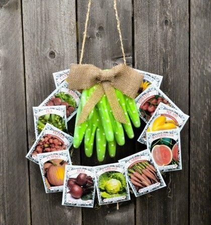 Seed Packet Wreath – Anleitung zum Basteln im Doll…