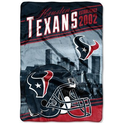Northwest Co. NFL Texans Stagger Throw