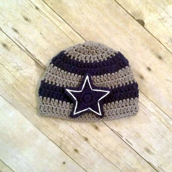 Crochet beanie Cowboys - Crafts Pinterest Dallas ...