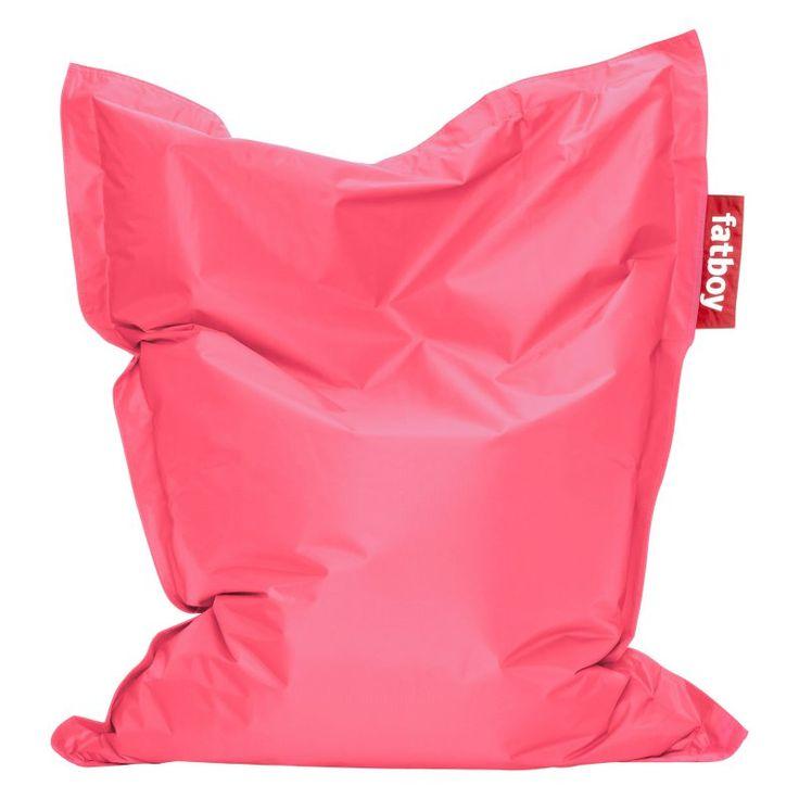 Fatboy, 4-Foot  Junior Large Bean Bag Chair Light Pink - JUN-BRTPKN