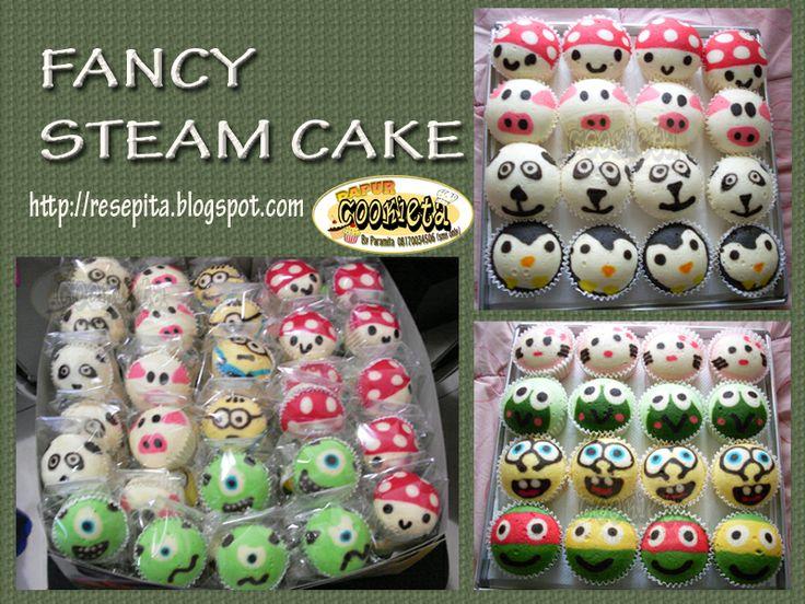 Fancy Steam Cake