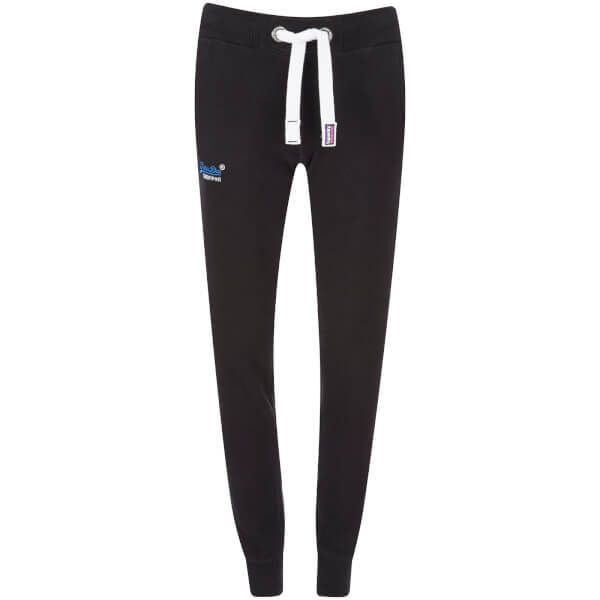 Superdry Women's Orange Label Slim Joggers (596.655 IDR) ❤ liked on Polyvore featuring activewear, activewear pants, black, jogger sweatpants, superdry, jogger sweat pants, sweat pants and slim fit sweat pants