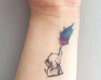 Image result for small elephant tattoo