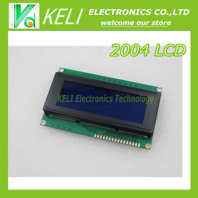 1 шт./лот Плата ДИСПЛЕЯ 2004 20*4 ЖК 20X4 5 В Синий экран blacklight LCD2004 ЖК-дисплей модуль LCD 2004 для arduino