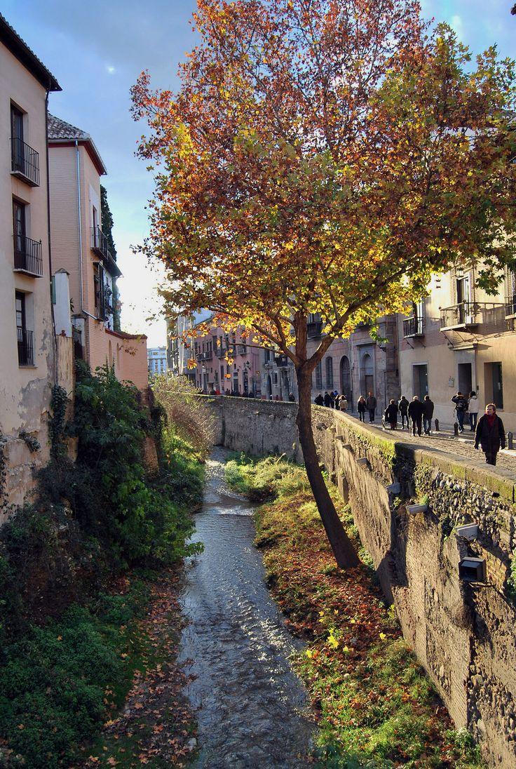 Carrera del Darro, Granada.