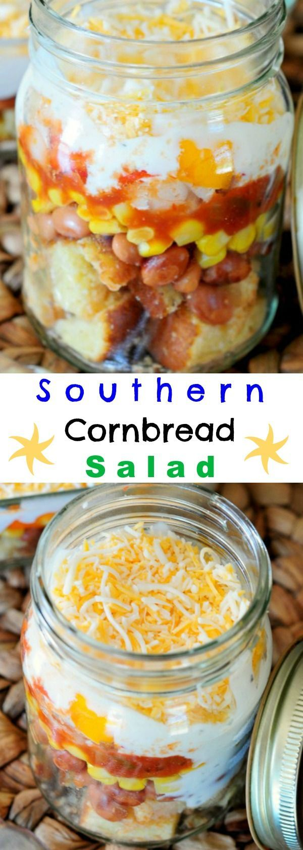 Incredible Southern Cornbread Salad - Everyone will BEG for the recipe!: