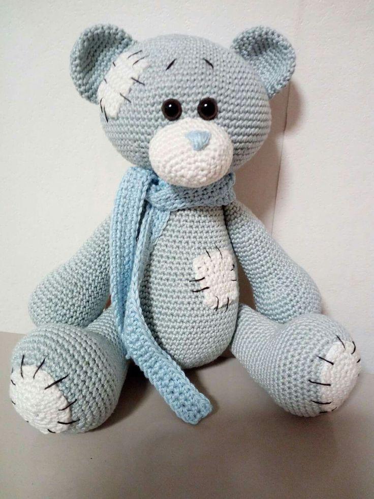 95 besten Teddy bear patterns Bilder auf Pinterest | Teddybär muster ...