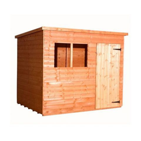 25799 strongman 7ft x 5ft 205m x 145m budget pent shed - Garden Sheds Quick Delivery