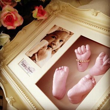 XL Large Casting Kits - Baby Casting Kit, Fingerprint Jewellery, Baby Handprint Footprint Kit, Keepsake Boxes, Belly Casting Kits from BabyRice UK