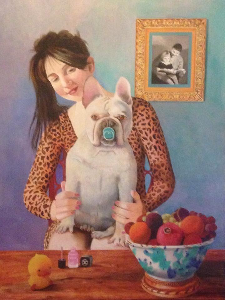 """""""My Baby"""", artist Gutte Norrild"""